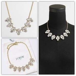 J.Crew Rounded Crystals Necklace